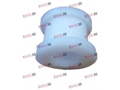 Втулка фторопластовая (передняя, кабина AZ1642430263) H2/H3 HOWO (ХОВО) AZ1642430261 фото 1 Шахты