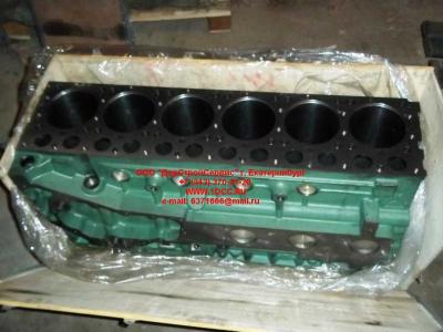 Блок цилиндров двигатель WD615.68 (336 л.с.) H2 HOWO (ХОВО) 61500010383 фото 1 Шахты