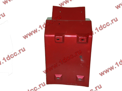 Брызговик передней оси левый H2 красный HOWO (ХОВО) WG1642230003 фото 1 Шахты
