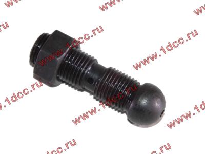 Болт регулировочный клапана с гайкой H2/H3 HOWO (ХОВО) VG14050010 фото 1 Шахты