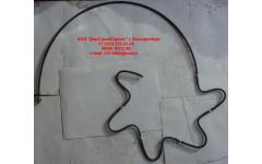 Трубка топливная обратки с форсунок H3 фото Шахты