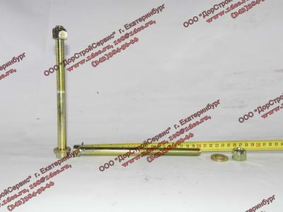 Болт центральный рессоры передней H2/H3 HOWO (ХОВО) 99100520710 фото 1 Шахты