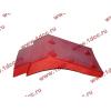 Брызговик передней оси правый H2 красный HOWO (ХОВО) WG1642230004 фото 3 Шахты