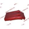 Брызговик передней оси правый H3 красный HOWO (ХОВО) WG1642230104 фото 2 Шахты