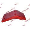 Брызговик передней оси правый H2 красный HOWO (ХОВО) WG1642230004 фото 4 Шахты